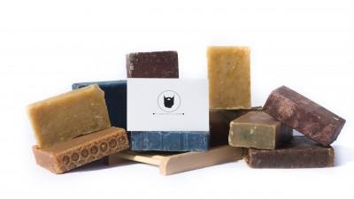 Savons et shampoings 100% naturels du Comptoir de la Barbe